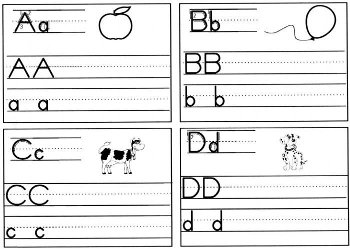 Handwriting Pages To Print For Free Home Schooled Children