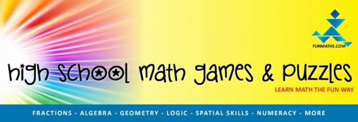 High School Math Games And Puzzles Free Learning Resources