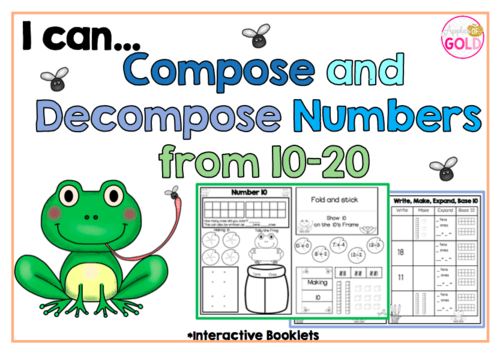 I Can Compose And Decompose Numbers From