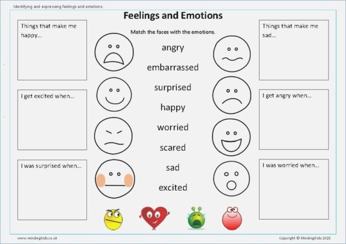 Image Result For Feelings And Emotions Worksheets With Images Th