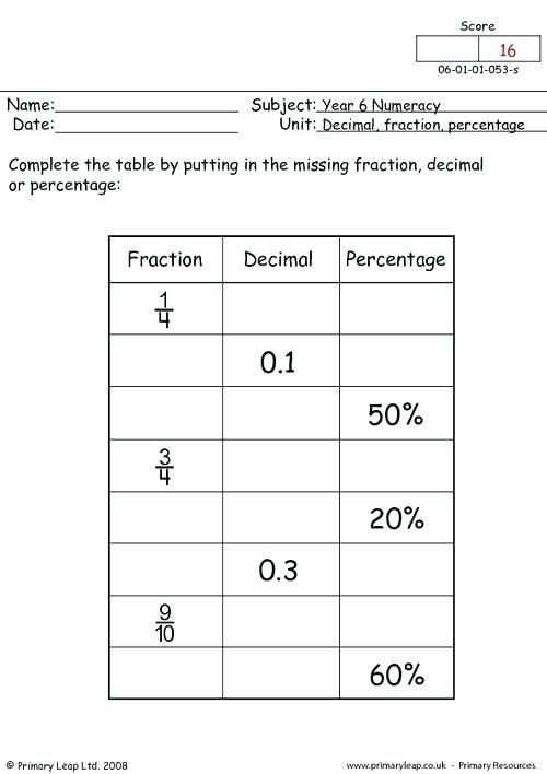 Image Result For Grade  Percentage Worksheets