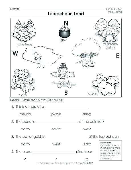 Image Result For St Grade Geography Worksheets With Images First
