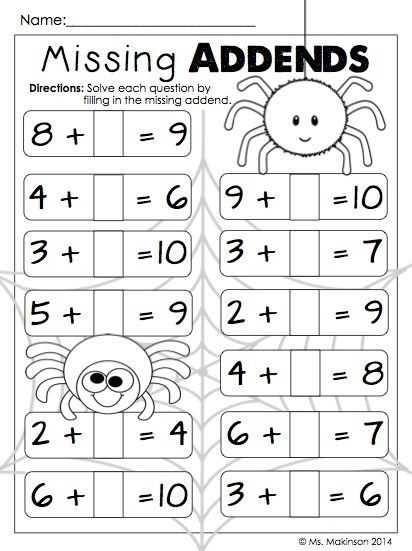 October Printables First Grade Literacy Math And Science St