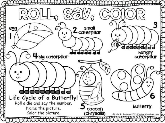 Resultado De Imagem Para The Very Hungry Caterpillar Worksheets