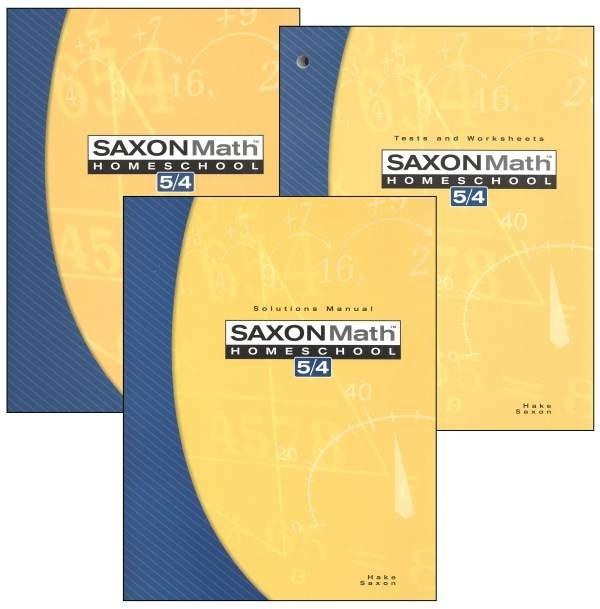 Saxon Math  Ed Homeschool Kit