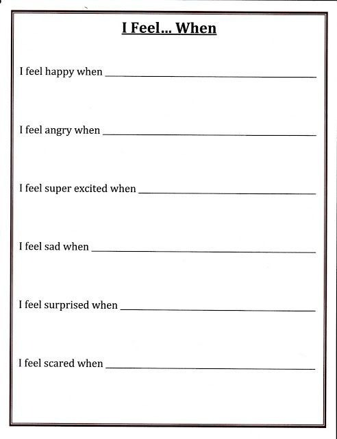 Self Esteem Worksheets To Print Kittybabylove For Teens Binary