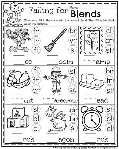 St Grade Math And Literacy Worksheets With A Freebie