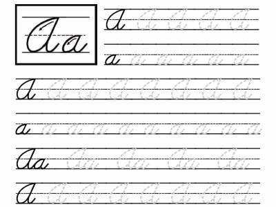 Th Grade Cursive Writing Worksheetshandwriting