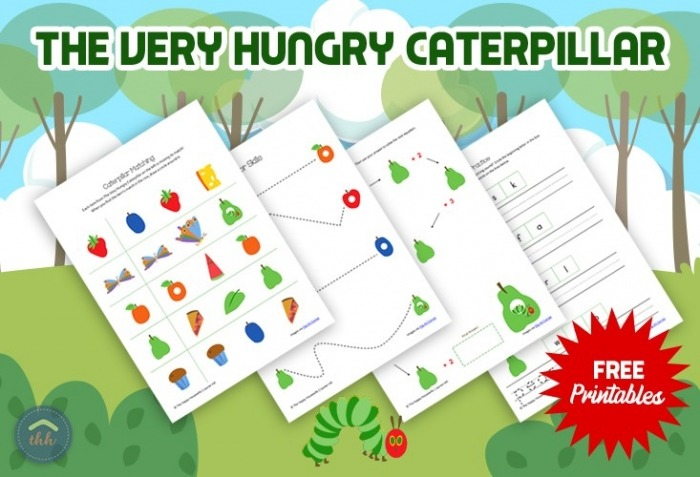 The Very Hungry Caterpillar Worksheets Free Printables