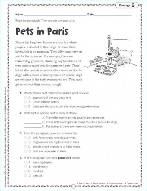 Third Grade English Worksheets Free Rd Ela Multiplication Rd