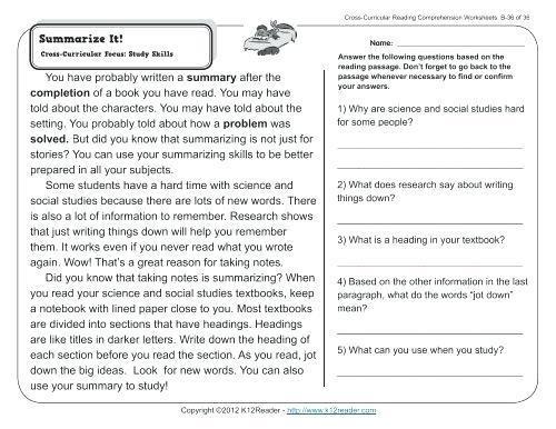 Worksheet  Free Printable Literacy Worksheets Picture