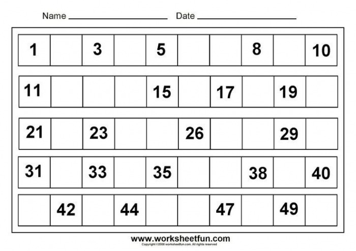 Worksheet  Free Printable Math Worksheets Sheets For