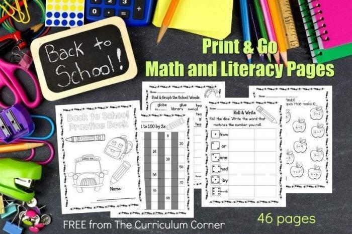 Worksheet  Math Worksheets To Print School Free Printableutn