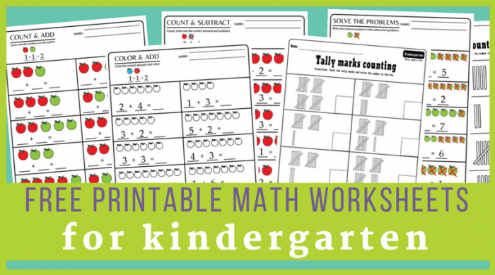 Worksheet  Worksheet Kindergarten Math Worksheets Pdf Files To