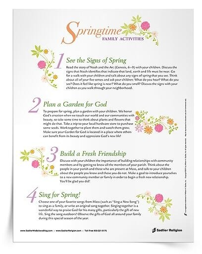 Care For Gods Creation Printables For Catholics To Use At Home