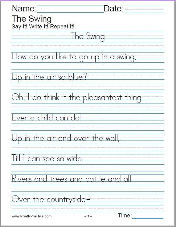 Cursive Handwriting Sheets  Alphabet Cursive Writing Worksheets