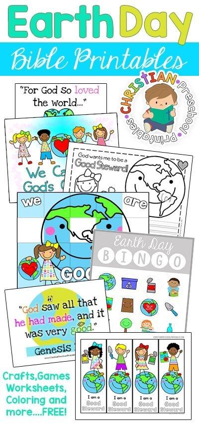 Earth Day Bible Printables