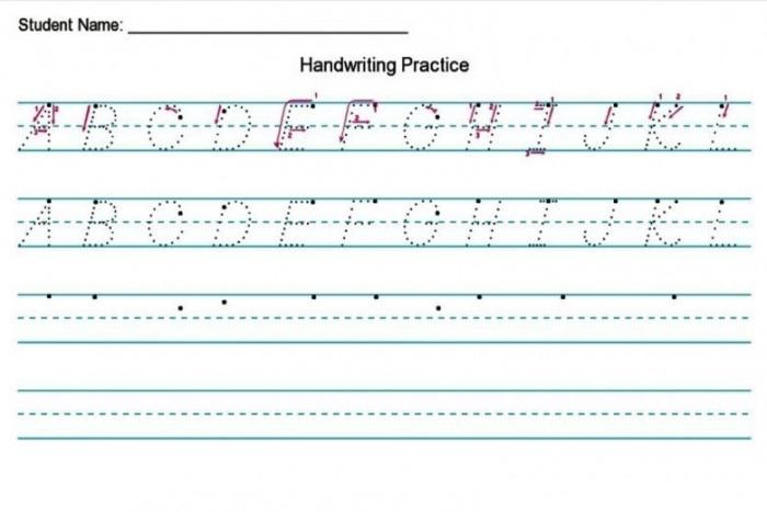 Handwriting Worksheet Creator Free  Diy Homeschooler