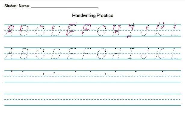 Handwriting Worksheet Creator Free Diy Homeschooler Hwc Create