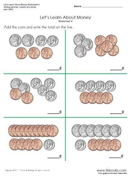 Image Result For Money Worksheets For First Grade