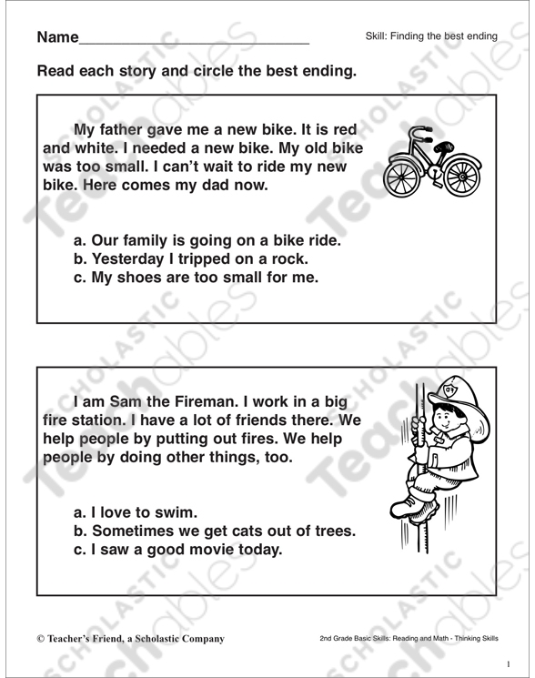 Making Inferences Grade Collection Printable Leveled Learning