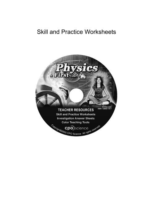 Skill And Practice Worksheets
