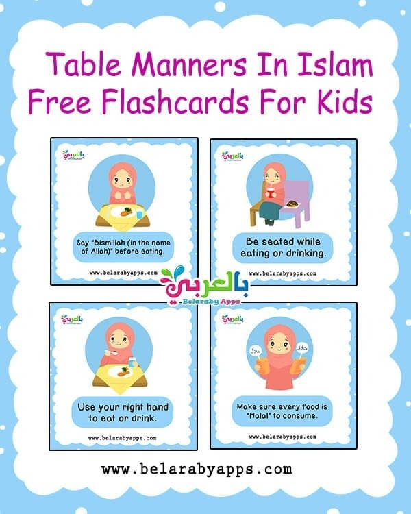 Table Manners In Islam