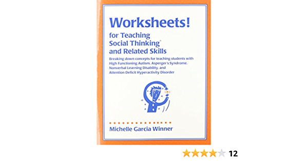Amazoncom Worksheets For Teaching Social Thinking And Related