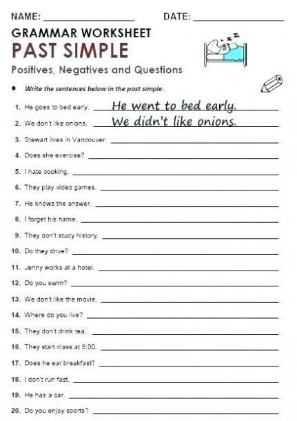 Coloring Pages  Printable Grammar Worksheets Th Grade