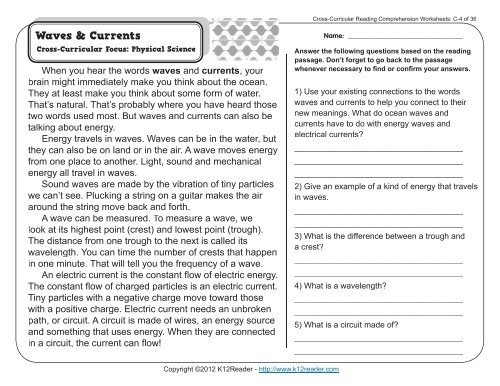 Comprehension Activities For Rd Grade Reading Comprehension