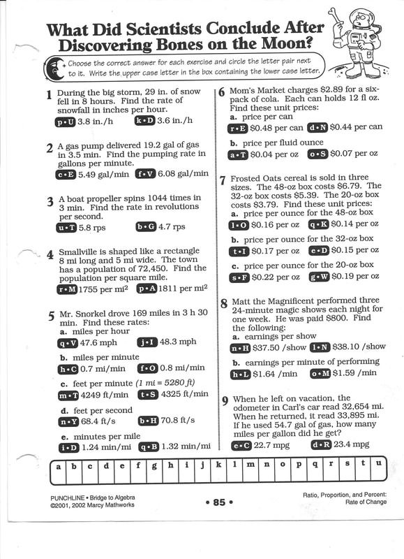 Cow Conundrums Math Worksheet Answers