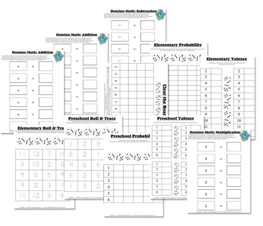 Dice   Domino Math Fun