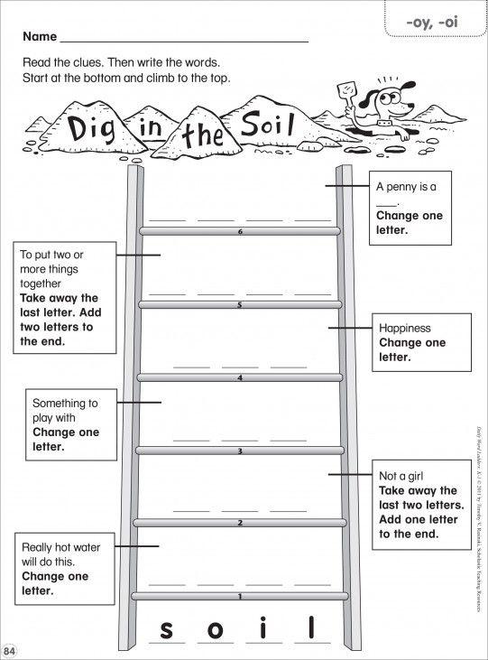Word Ladder Worksheets For Middle School - Worksheets Master