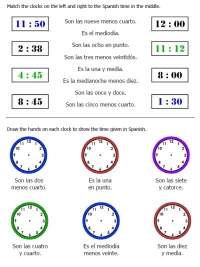 Free Time   Weather Worksheets