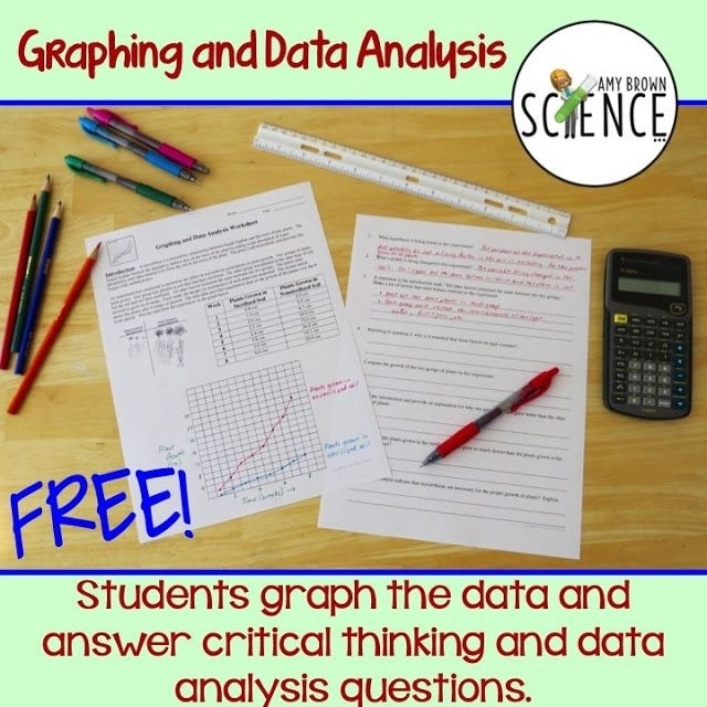 Graphing Scientific Method And Data Analysis Practice Worksheets