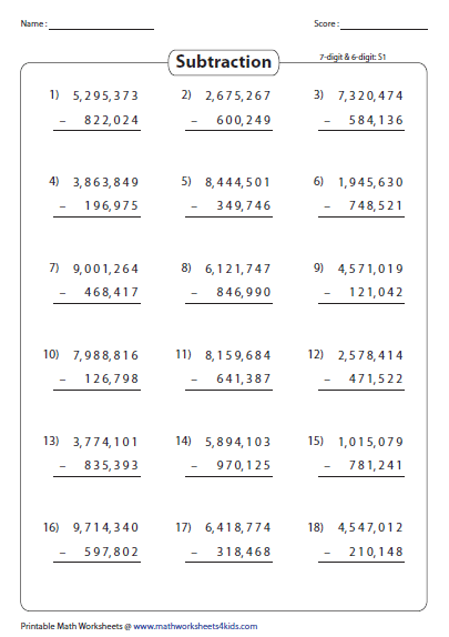 Large Numbers