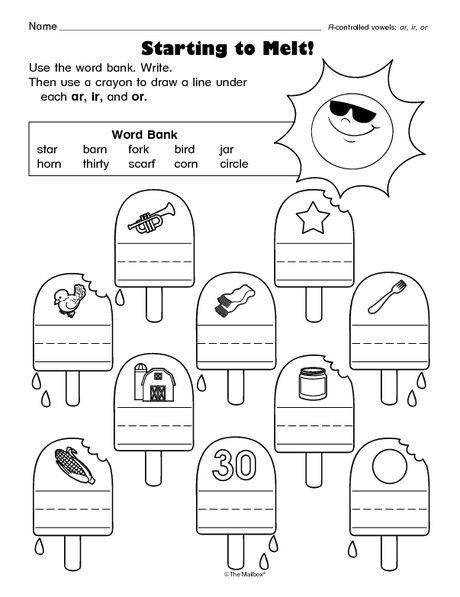Literacy Worksheet R