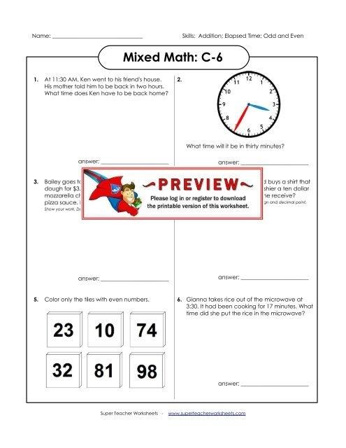 Mixed Math C