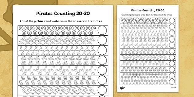 Pirates Counting