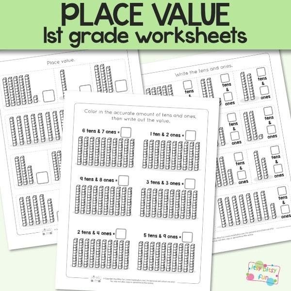Place Value Worksheets For St Grade