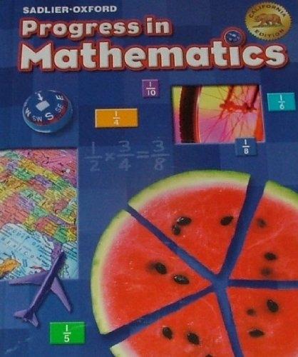 Progress In Mathematics By Sadlier