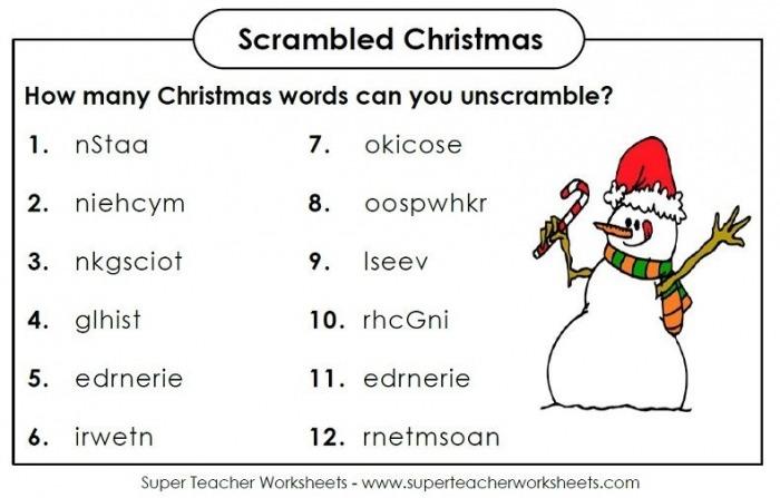 Scrambled Christmas