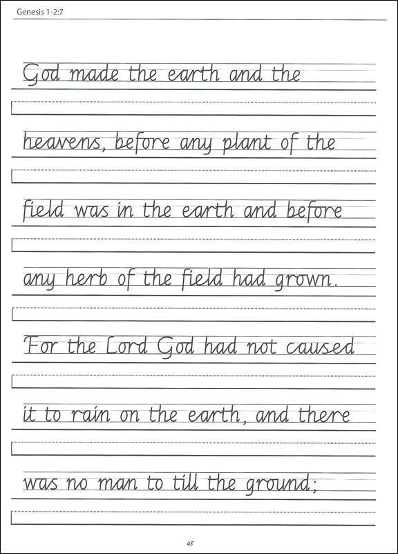Th Grade Cursive Worksheets Main Ideas Worksheets Scripture