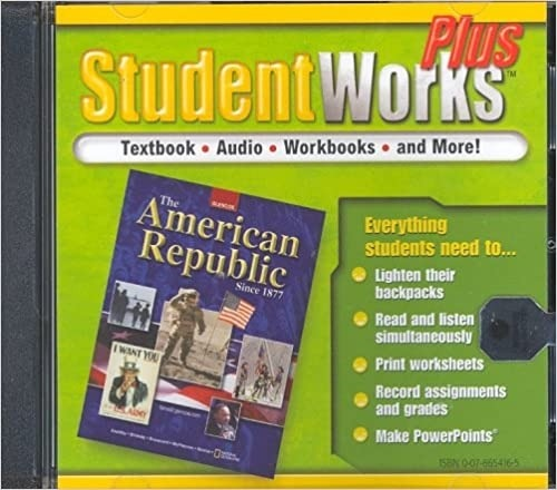 The American Republic Since   Studentworks Plus Cd