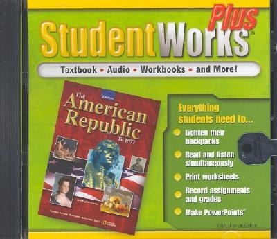 The American Republic To  Studentworks Plus