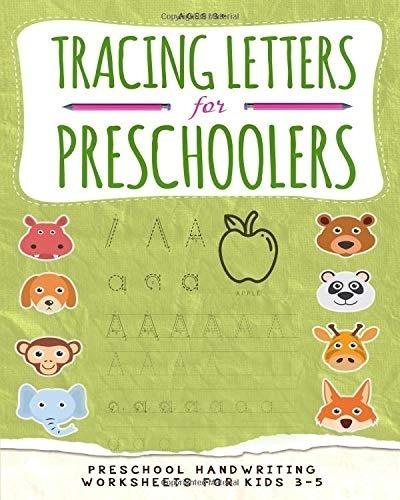 Tracing Letters For Preschoolers Preschool Handwriting Worksheets