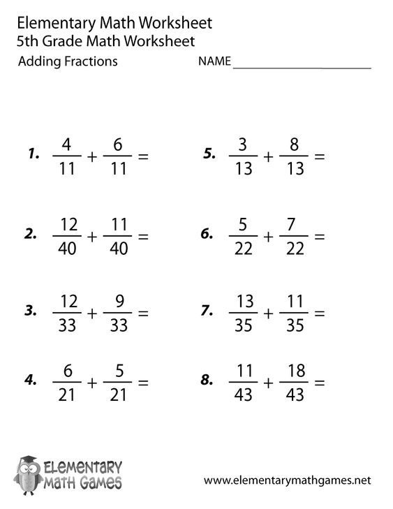 Worksheet  Th Grade Fraction Worksheets Math Fractions