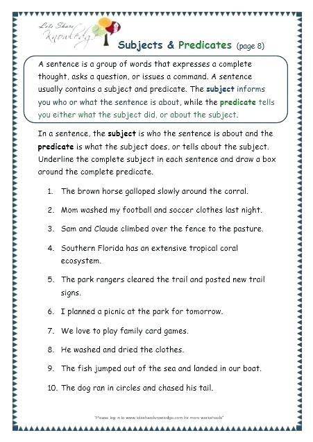 Worksheet Free Printable Worksheets For Grade Subjects And