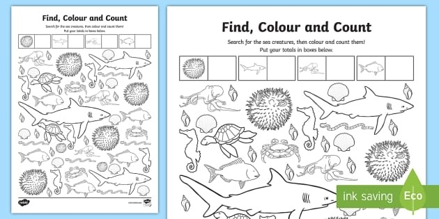 Free Animal Movement Cards Teacher Made Under The Sea Worksheets