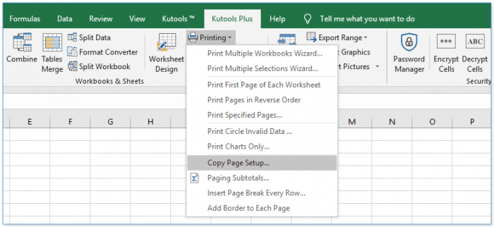 How To Make All Sheets To Landscape Orientation In Excel